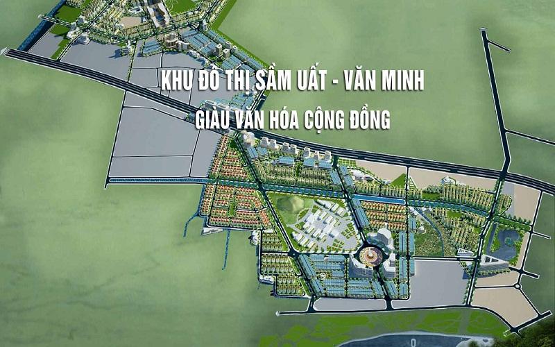 Phối cảnh KĐT Mỹ Trung - TP Nam Định