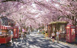 Mang sắc màu Tokyo đến với Cẩm Phả trong dự án Green Dragon City
