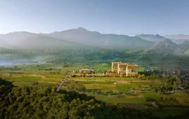 Apec ra mắt dự án suối khoáng nóng Mandala Sky Villas Kim Bôi